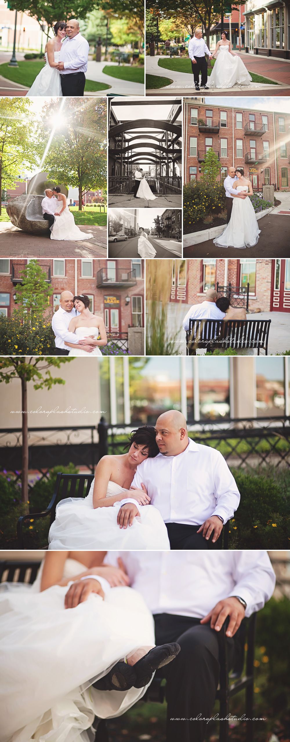 Wedding Photos Downtown Kalamazoo