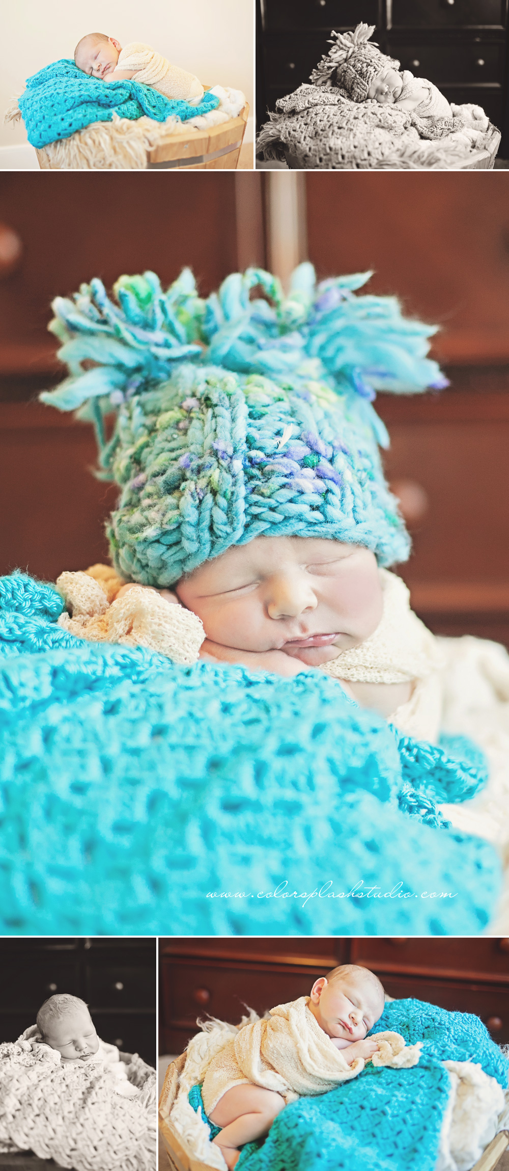 Kalamazoo Newborn Photography in Home