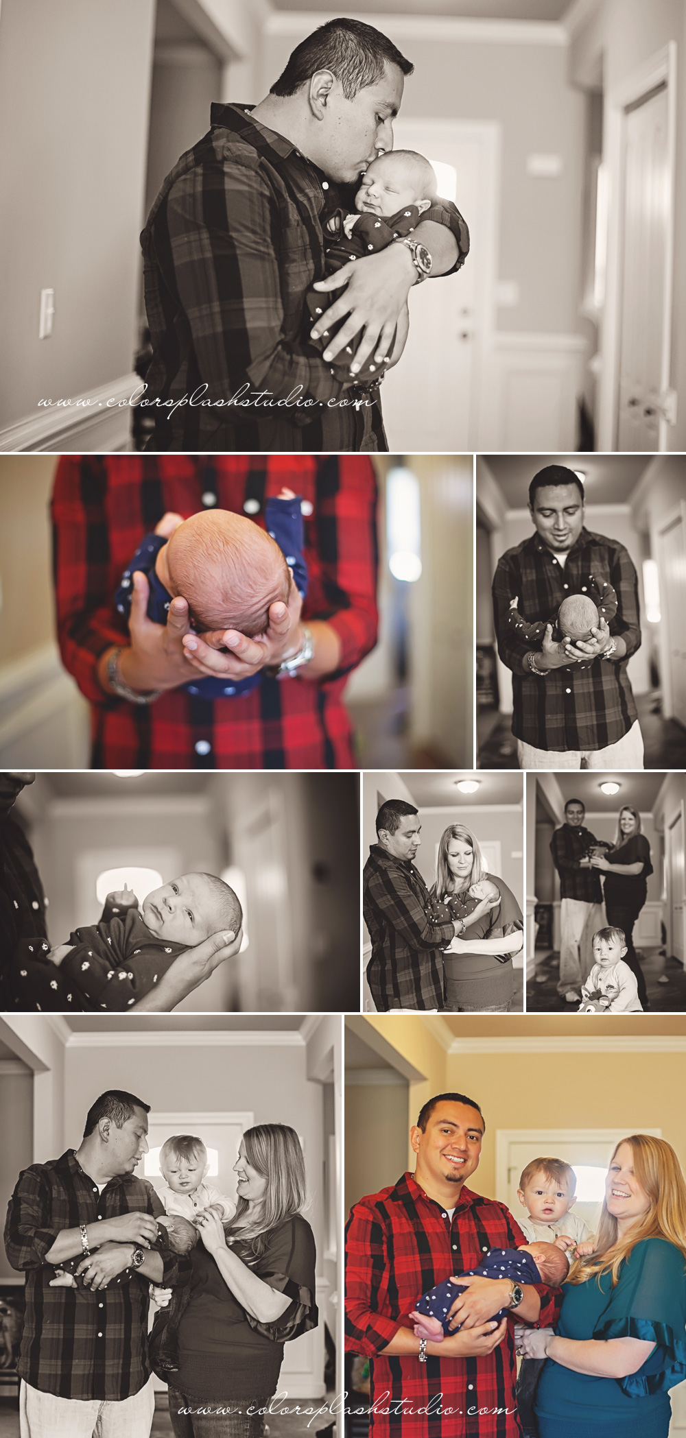 On location newborn photographer in kalamazoo