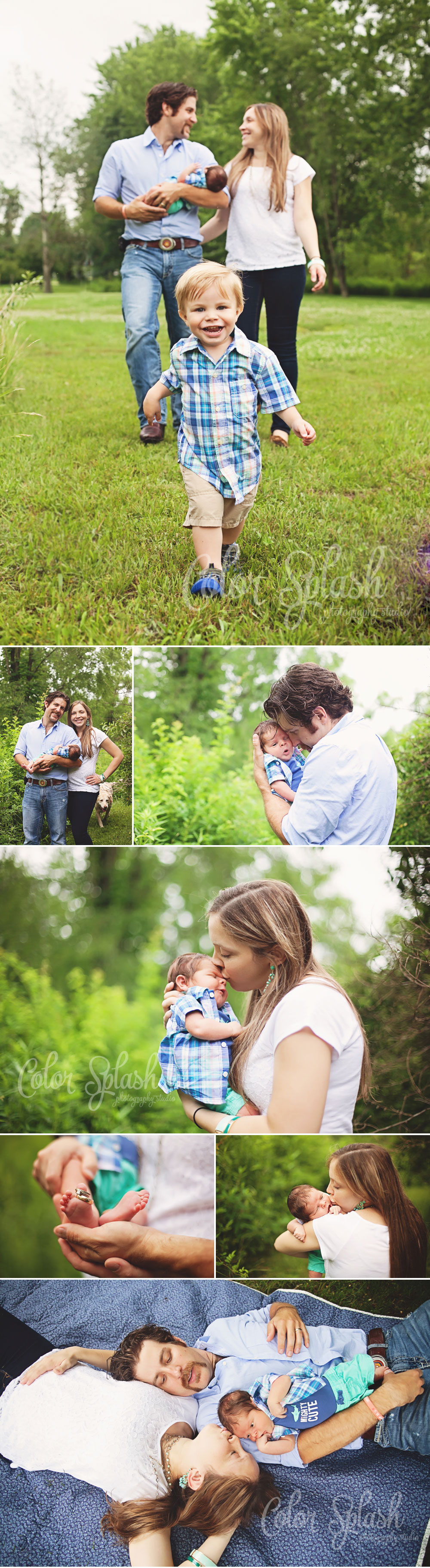 Color Splash Studio | Kalamazoo Newborn Photographer
