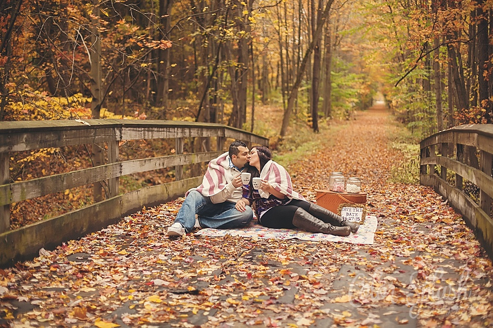 Color Splash Studio | Kalamazoo Fall Engagement Photos