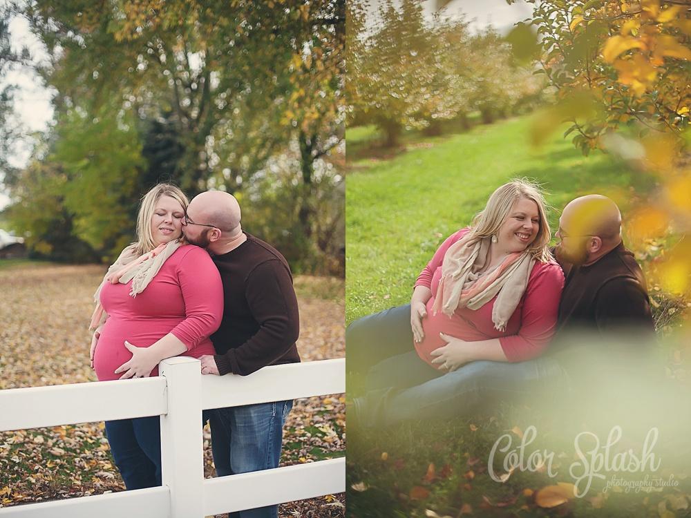 Color Splash Studio | Maternity Pregnancy Photos Kalamazoo