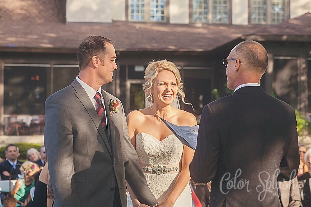 color splash studio | blythesfield country club wedding