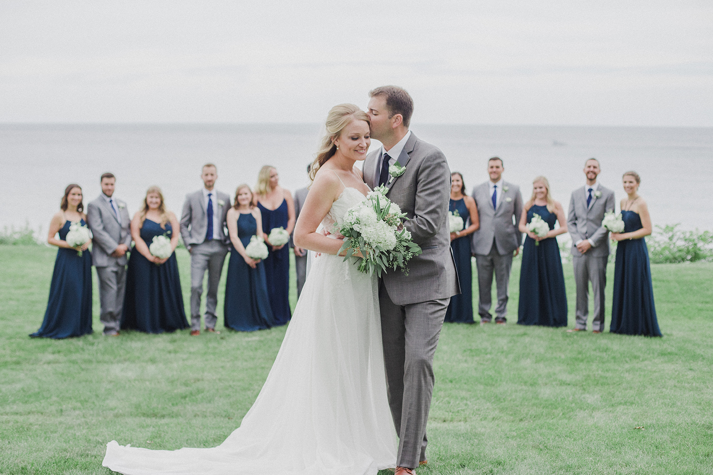 Kylie James Lake Bluff Inn Wedding Color Splash Studio