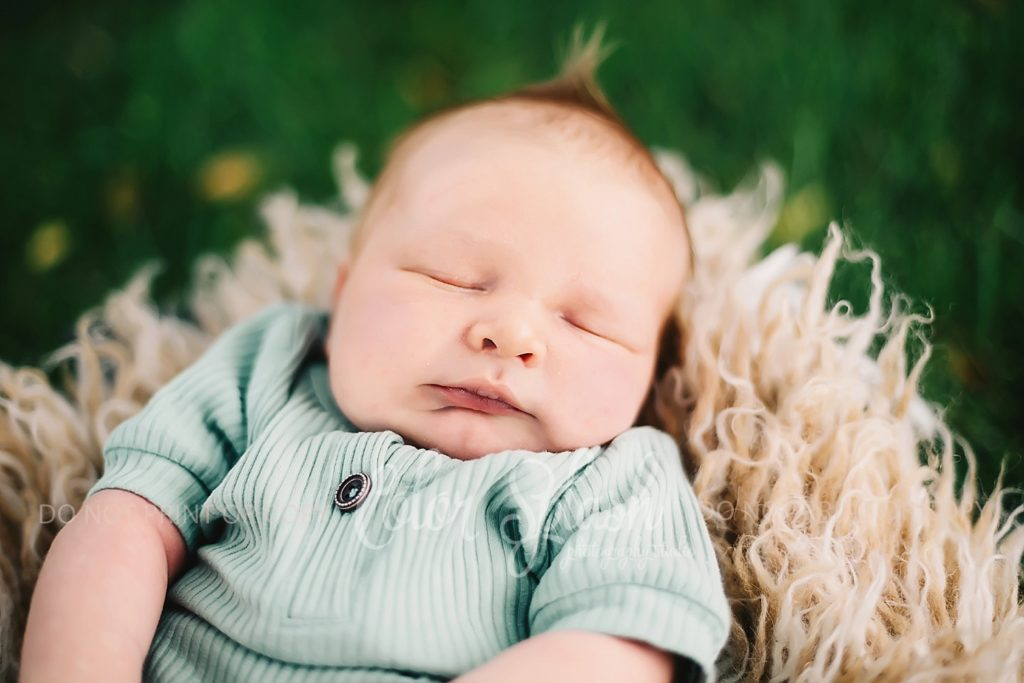 newborn baby outdoor photos